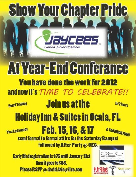 Year End 2012 Conference Invite