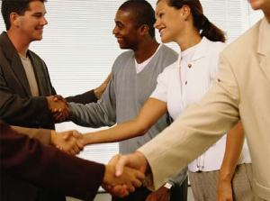 networking_professionals handshake